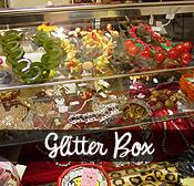 Vintage glitter box